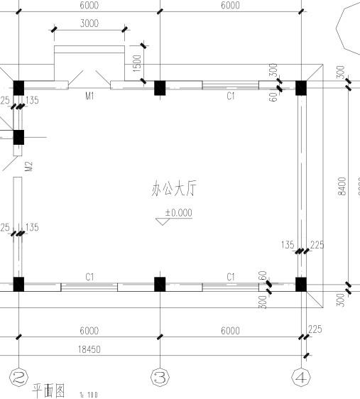 高低错台(灯槽,藻井)附加龙骨按图示跌级长度计算,面层另按跌级的立面图片