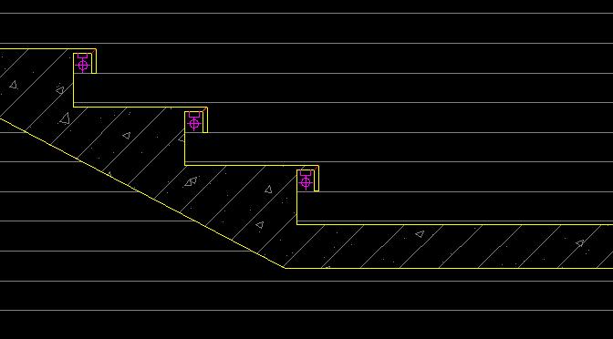 台阶下面暗藏灯带,灯带要怎么套定额