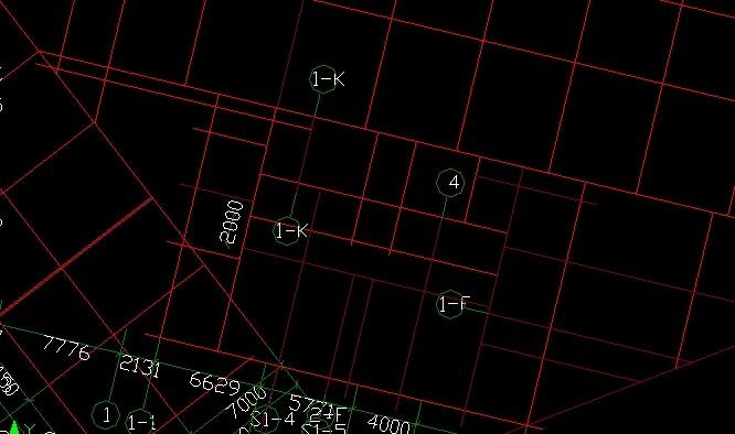 我出来CAD图后,导入识别的轴网的图纸a0标识价格图片