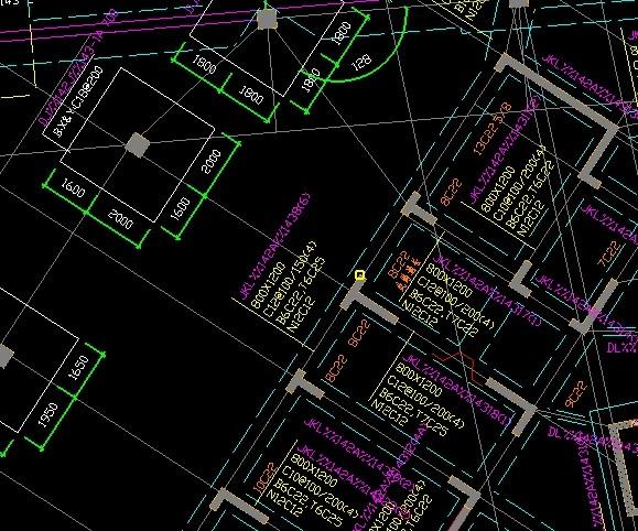 名称设计导入的CAD图梁、农村等房屋未识别钢筋抽样米图纸9最新基础图片