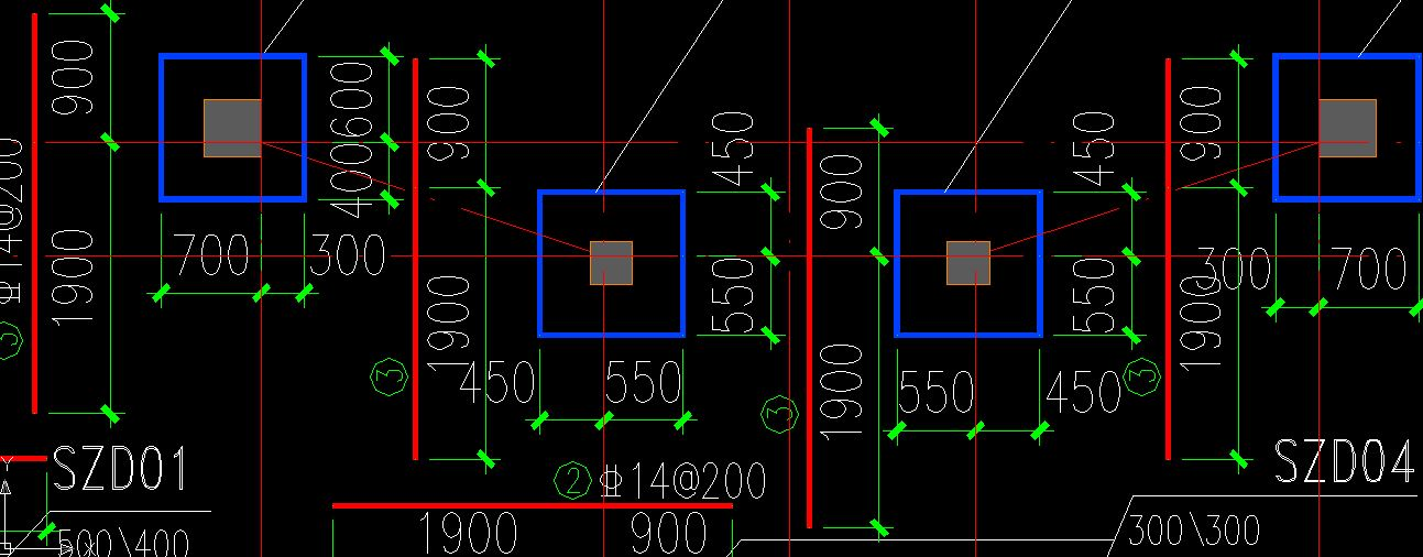 平板式筏板基础图片