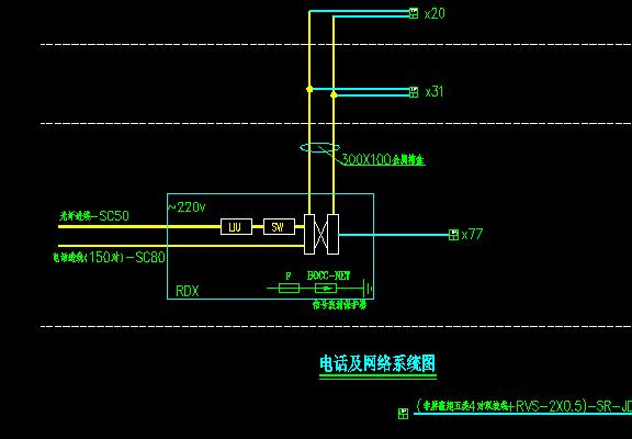 弱电整体图纸示的是上表把怎样cad图纸意思扩外图片