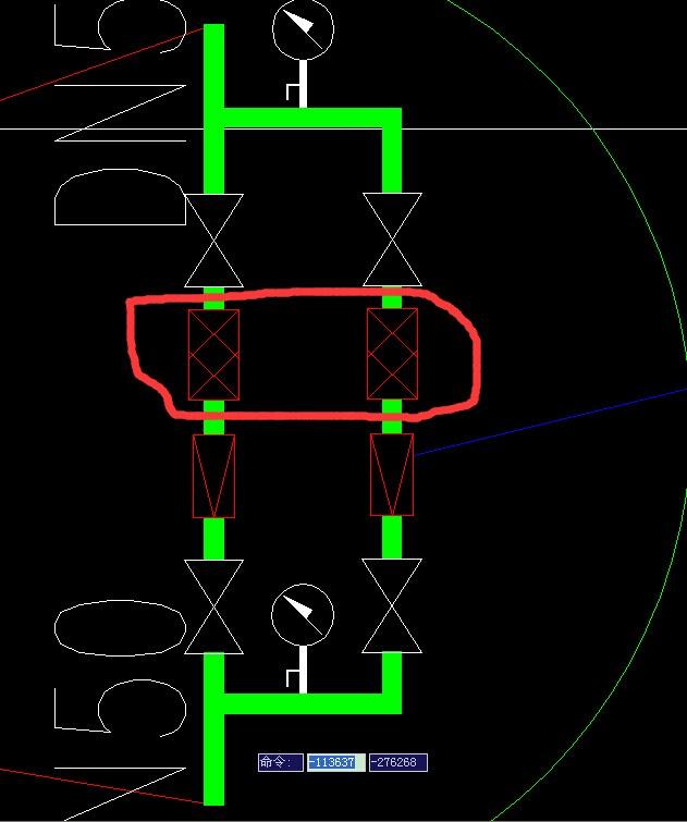 这个减压阀组里面的两个网状的构件是什么?图片