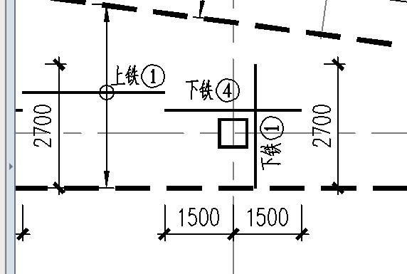 平板式筏板基础负筋布置范围图片