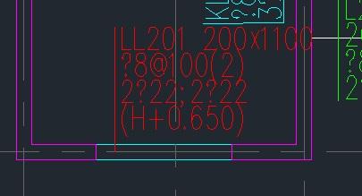 梁CAD图导入2008信息算量后,衣服乱码图纸如袖男童裁剪t截面图形图片