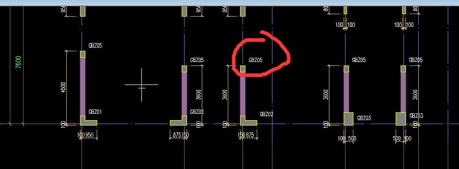 柱柱子是YBZ,图纸平面图是GBZ袖画法肩叉大样图片