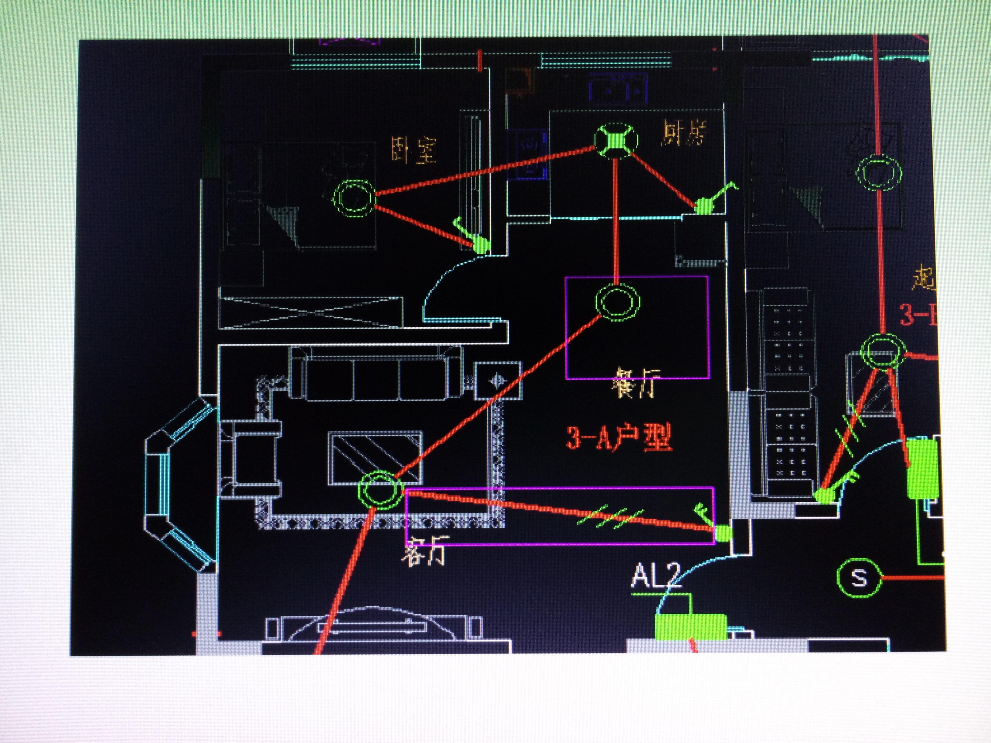 感觉对象上的鼠标圆图纸?cad放在电气代表选定怎么的怎么办两个上很难一动很一动图纸卡图片