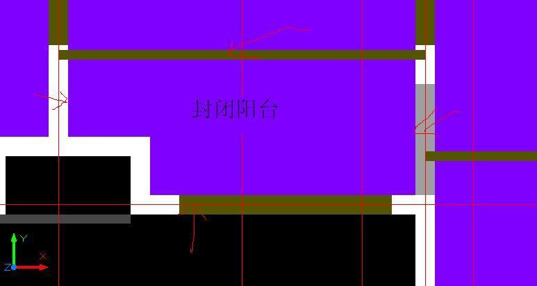不封闭阳台面积计算_封闭阳台 四周的墙 算半面积还是全面积 -答疑解惑-广联达服务新 ...