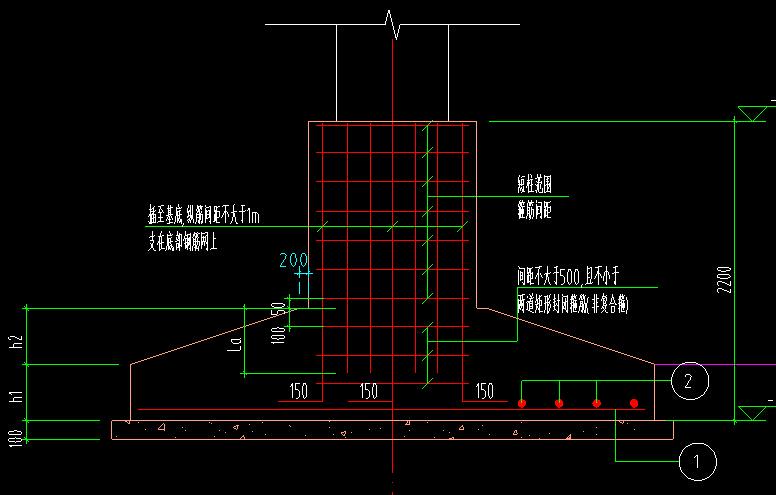 下图独立基础短柱在广联达中如何设置