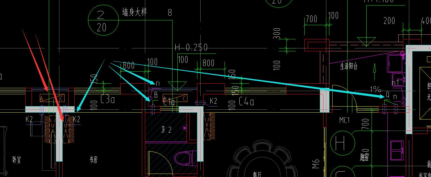 建筑图标注问题