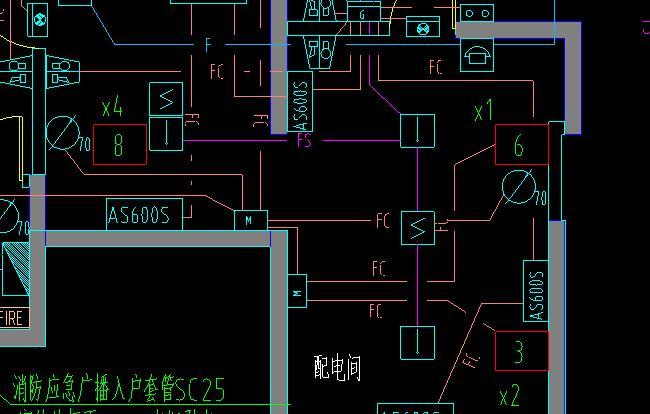 消防数字方框电气里有个意思是什意思图纸图纸6什么ac建筑是图片