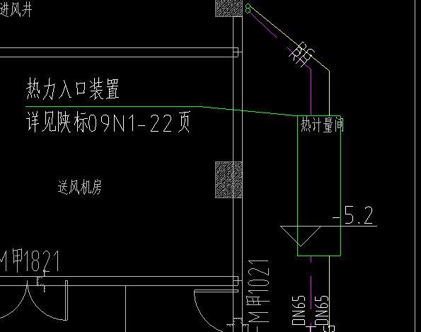 采暖热力入��f_计算采暖管道时,要不要扣除热力入口装置部分管道的长度?