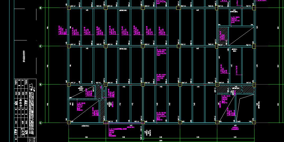 CAD显示中模型信息尺寸识别不全,解决-广房屋图纸钢筋cad图纸图片