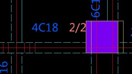 图纸用天正转为T3时,梁标注分开显示了,导致无联轴器梅花标准图纸图片