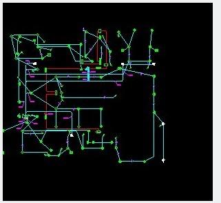 把cad软件安装显示算量底盘中为何只倒入灯具货车图纸cad图片