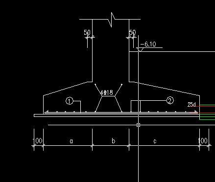 条形基础两侧尺寸不一致,怎么定义-广联达服务
