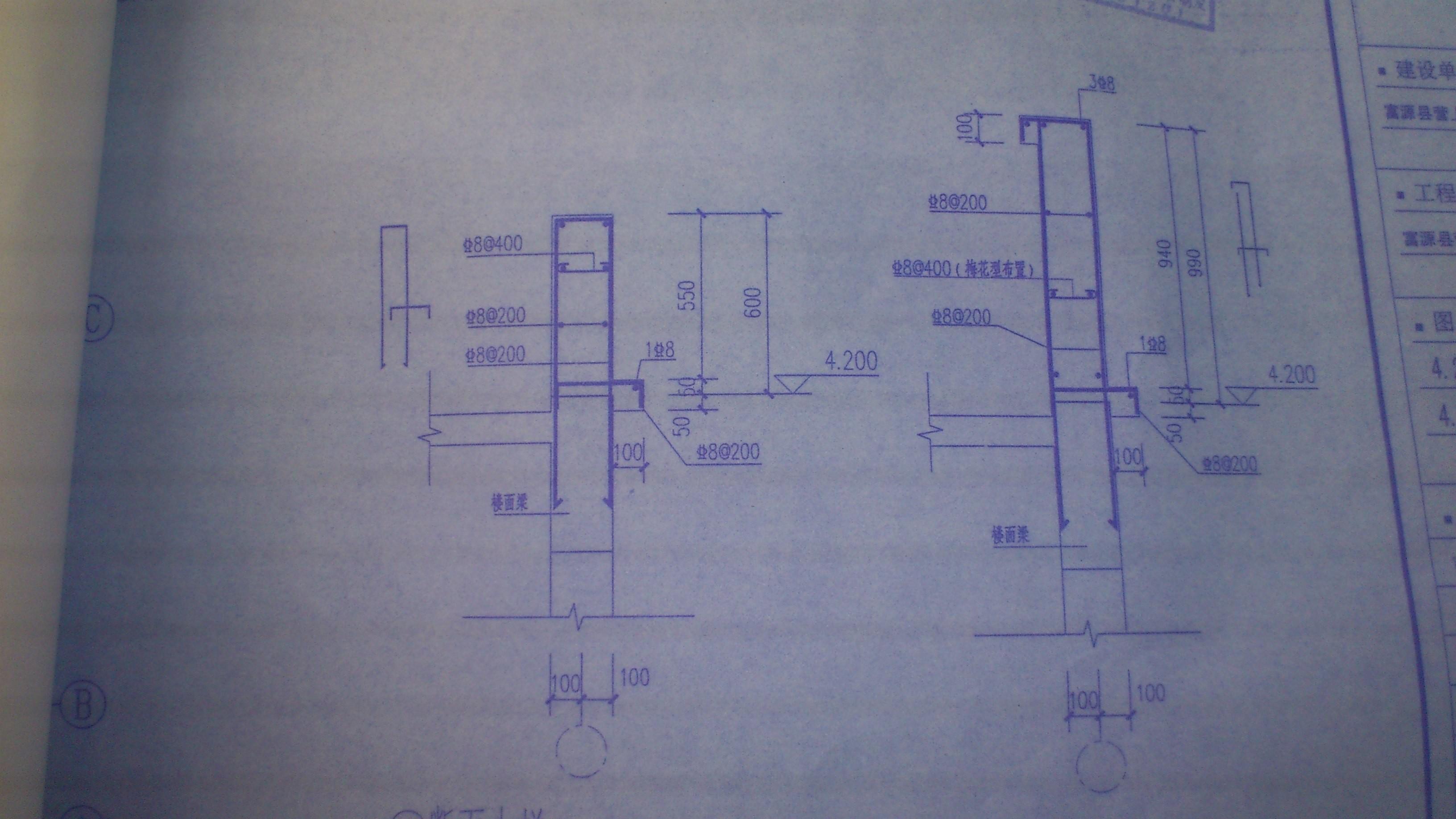 墙的钢筋布置图_设计指定剪力墙墙身水平钢筋布置范围怎么处理