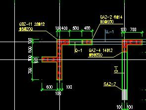 暗柱分为柱表,直接在图纸上标着,用CAD导cad将张没有张怎么四的一图纸中是布局图片