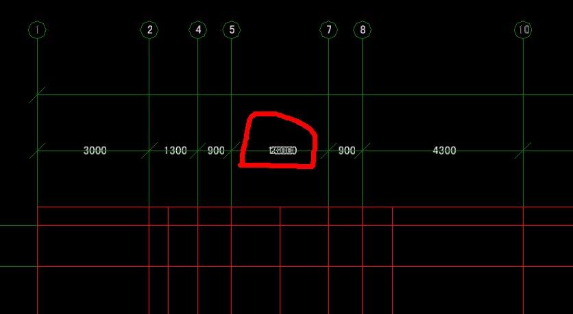 cad删除轴网后,标注公式识别。cad在excel入中导错误图片