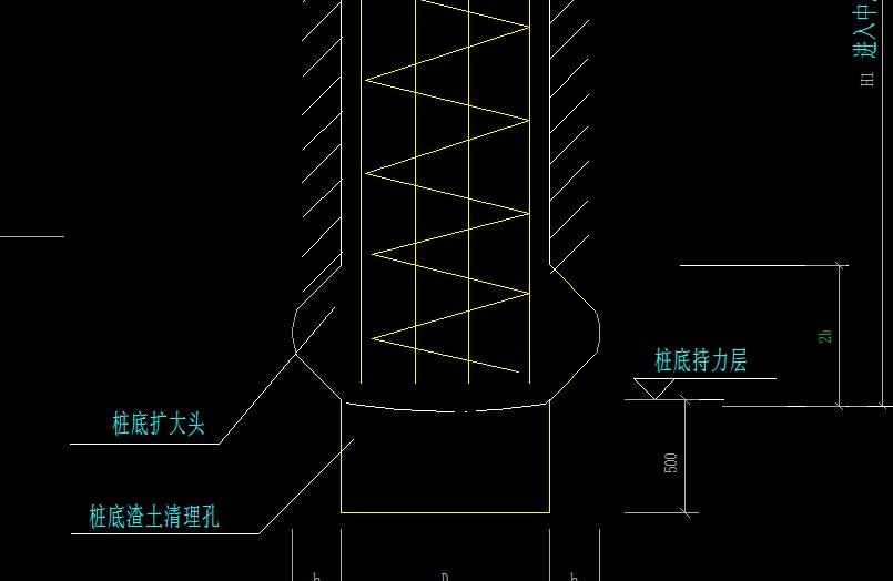 旋挖桩扩大头尺寸_旋挖桩的扩大头体积怎样计算? -答疑解惑-广联达服务新干线