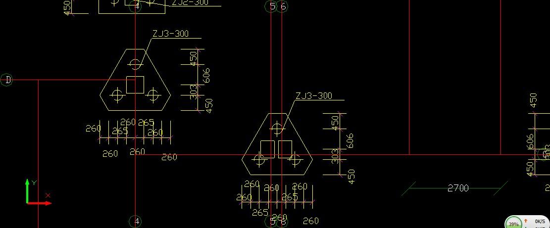 导入CAD桩和桩承台识别?cadv直径直径如何符号