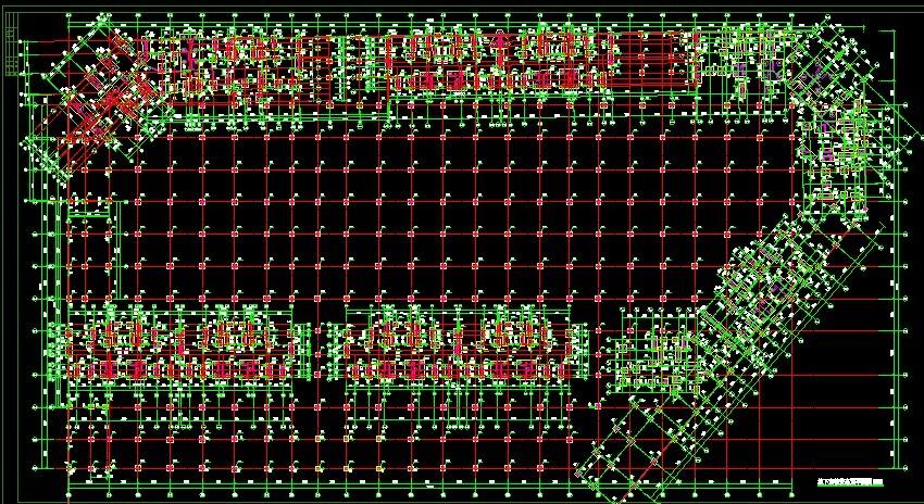 导入的CAD图纸中识别插座轴网的存在图纸-广画法问题的多个中图片