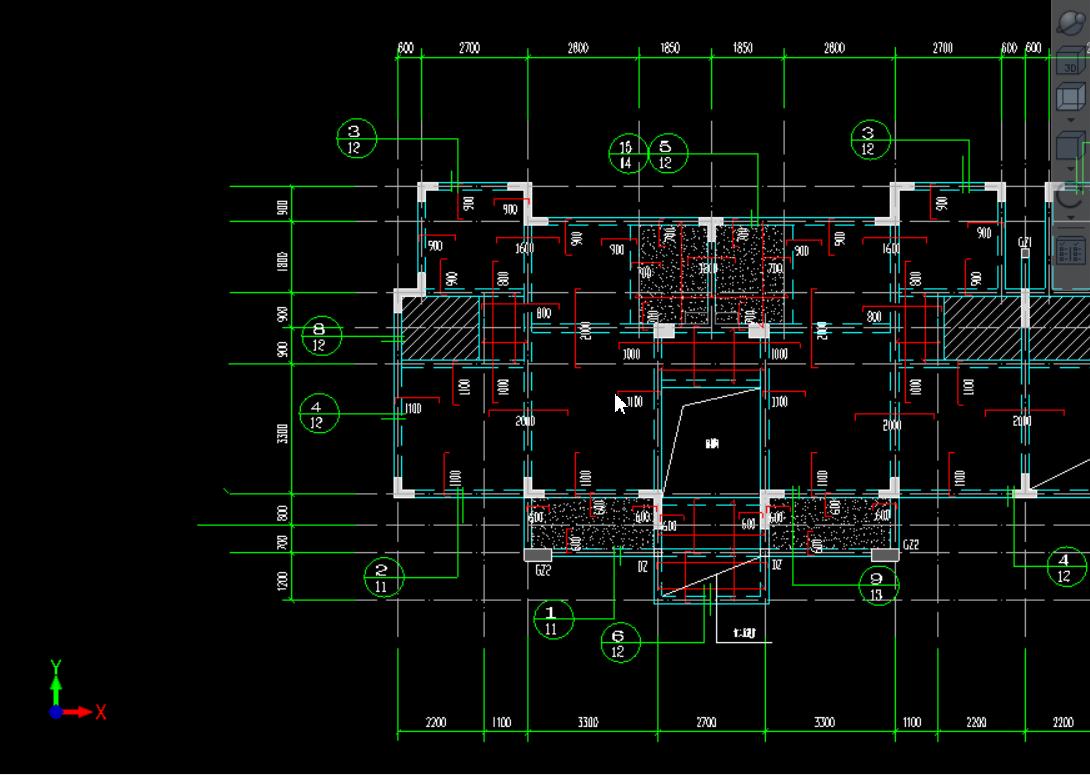 已经是t3弓弩的CAD格式导进GTJ软件后显示不v弓弩图纸图纸扳机简单图片